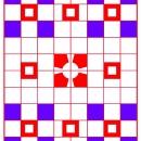 Sm-BR-SQ-on-RED-Blu-Grid